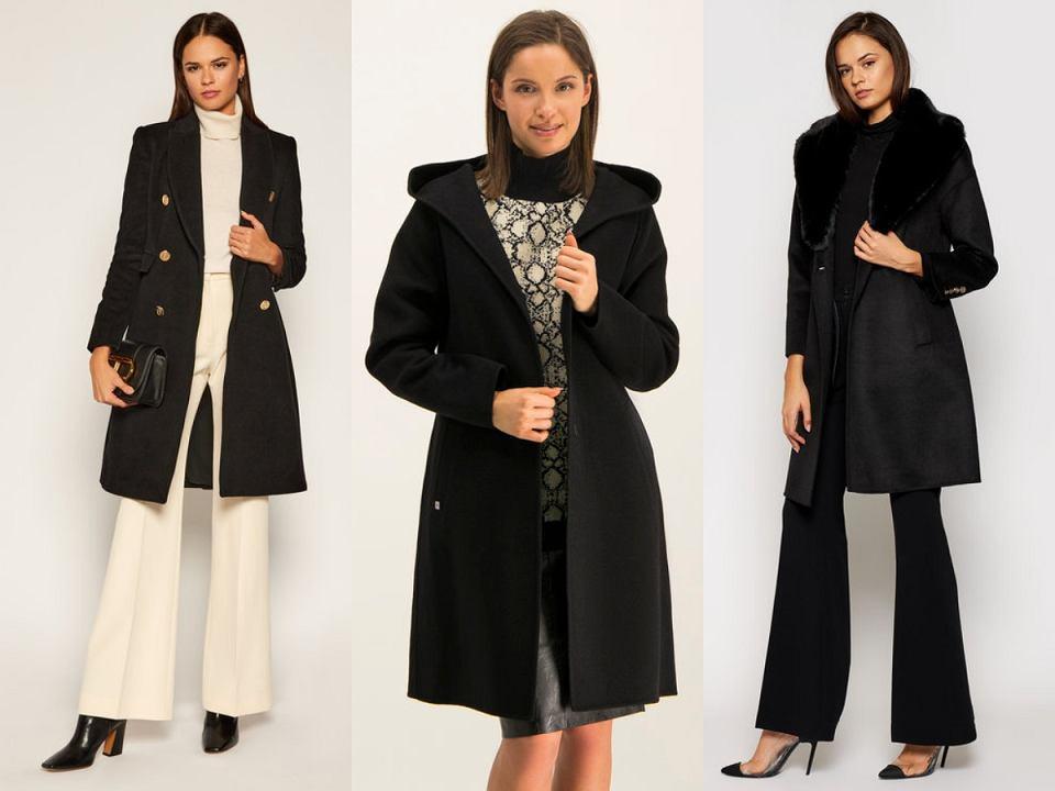 Klasyczne czarne płaszcze