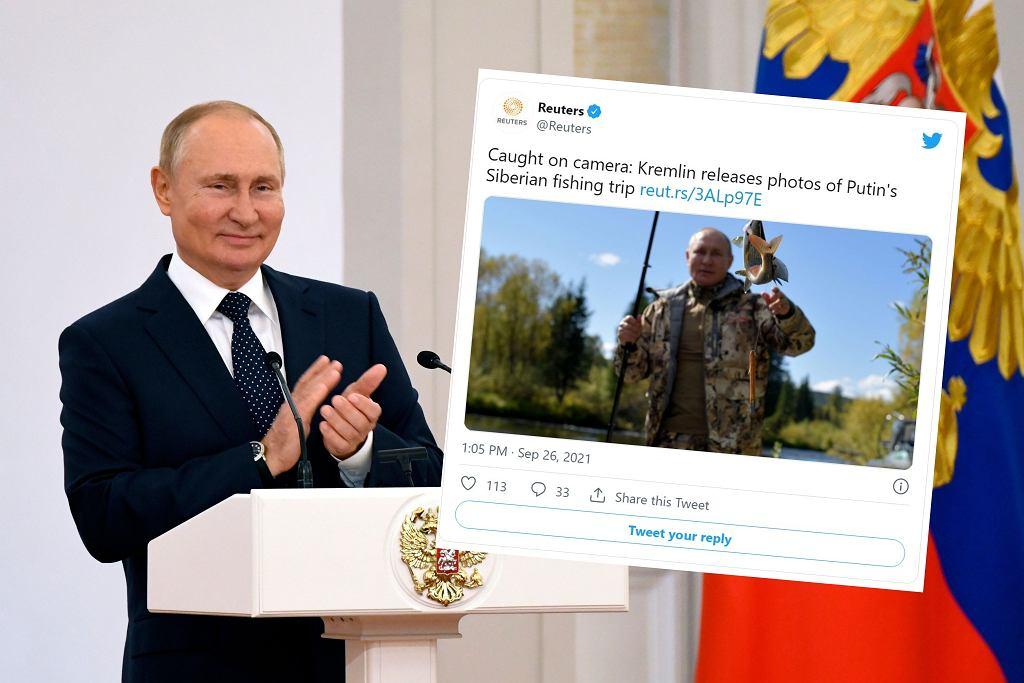 Władimir Putin pokazał zdjęcia z wakacji