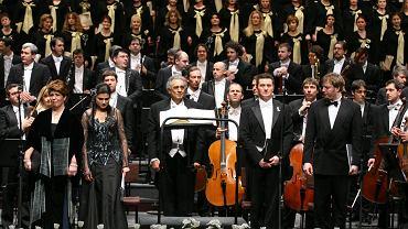 Piotr Beczała podczas koncertu w Operze Narodowej w Warszawie