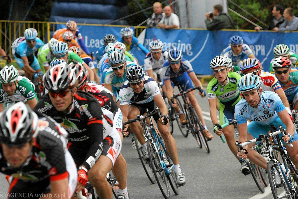 Wrzesień 2006 r. Tour de Pologne w Toruniu