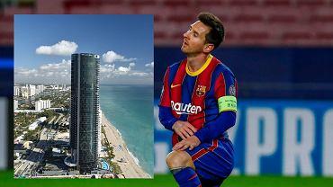 Leo Messi i budynek, w którym kupił nowe mieszkanie