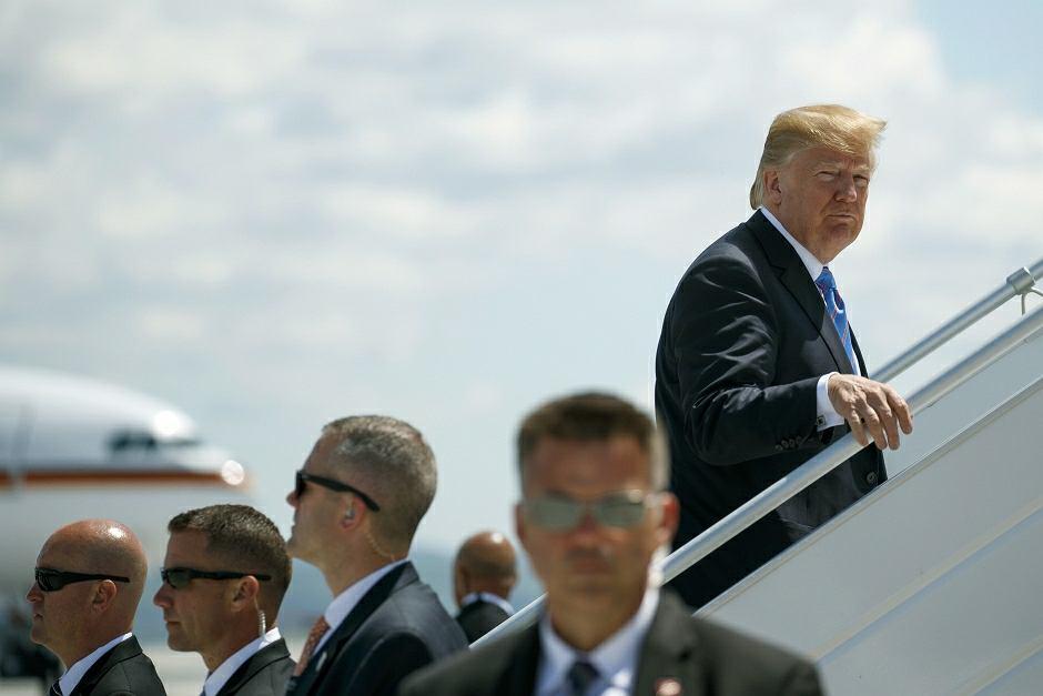 Donald Trump opuszcza szczyt G7