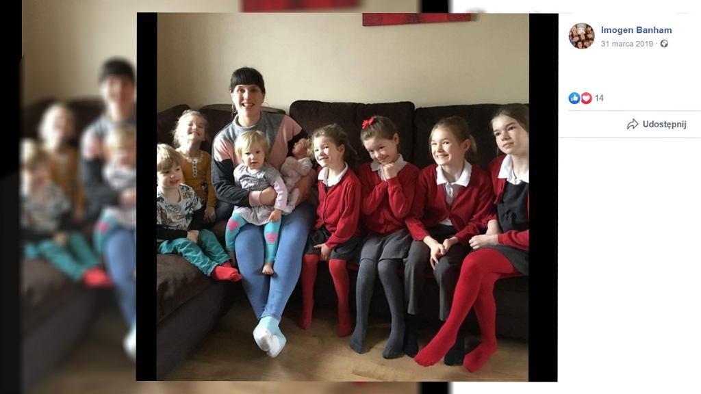 Kobieta urodziła ośmioro dzieci w ciągu 10 lat