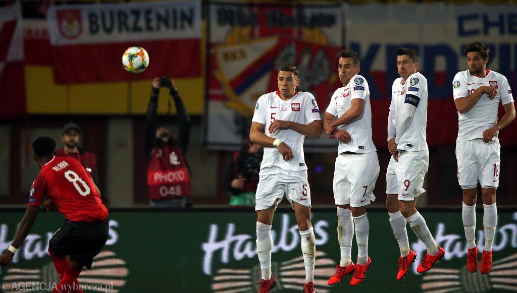 21.03.2019, Wiedeń, mecz eliminacji Mistrzostw Europy Austria - Polska.