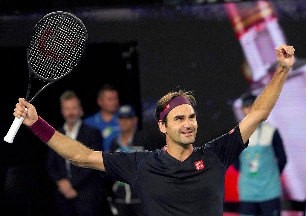 Roger Federer na Australian Open