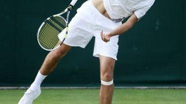 Jerzy Janowicz na trawiastych kortach Wimbledonu