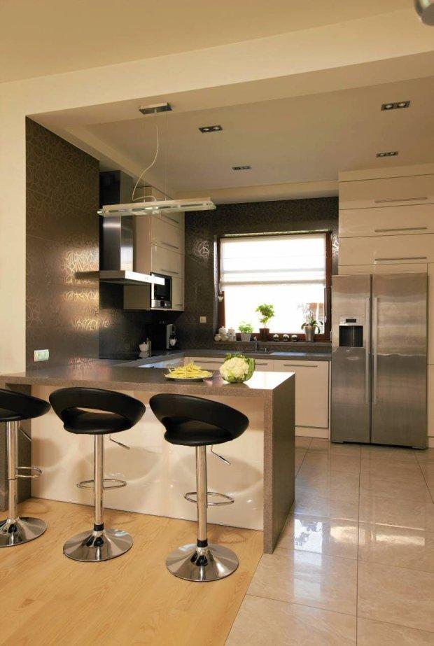 Barek W Kuchni Metamorfozy Domów Aranżacje Pomysły