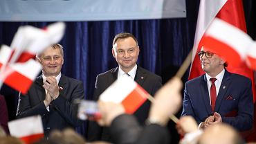 7.02.2020. Wizyta prezydenta RP Andrzeja Dudy we Włoszczowie