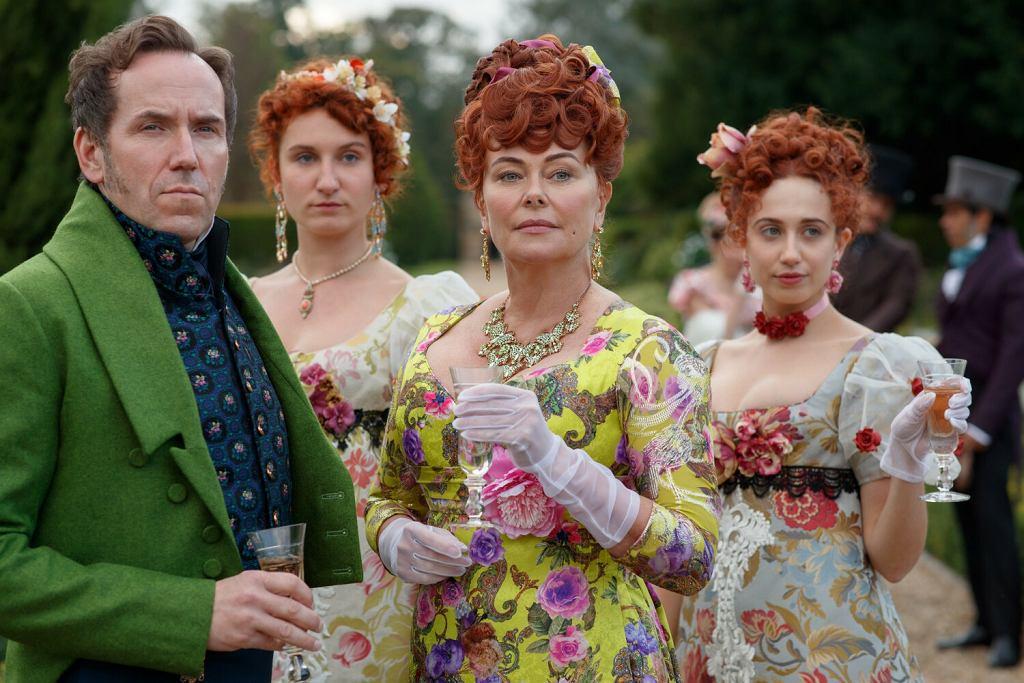 Kadry z serialu Bridgerton