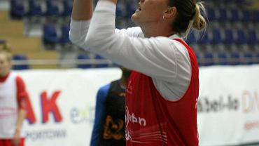 Cathrine Kraayeveld na treningu Artego Bydgoszcz