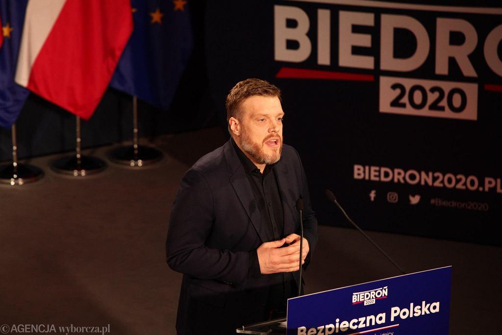 Wybory prezydenckie 2020. Konwencja wyborcza Roberta Biedronia
