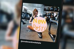 """Anna Lewandowska pokazuje brzuch w obcisłej koszulce, w której wygląda jak nastolatka. Fanki: """"Połknęłaś arbuza?"""". Odpowiada"""