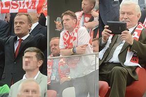 Donald Tusk, Tomasz Lis, Lech Wałęsa.