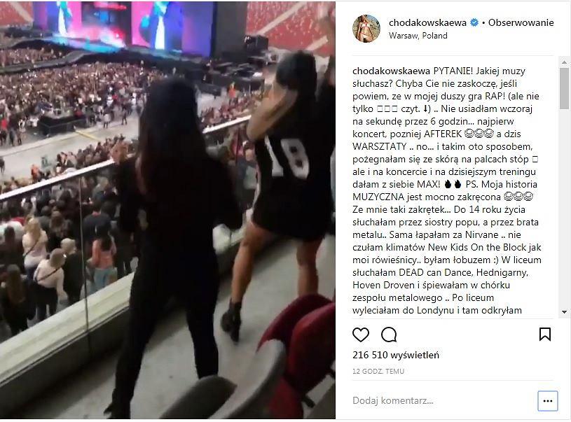 Ewa Chodakowska pokazała, jak tańczy na koncercie Beyonce