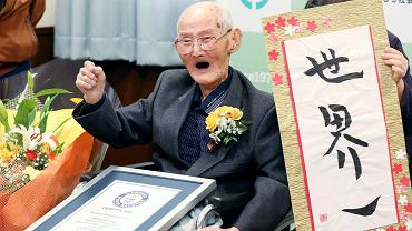 Japan Obit Oldest Man