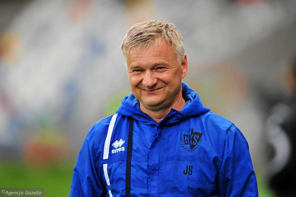 Jarosław Skrobacz, trener GKS-u Jastrzębie