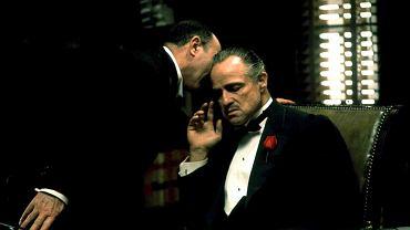 """Marlon Brando w filmie """"Ojciec chrzestny"""""""