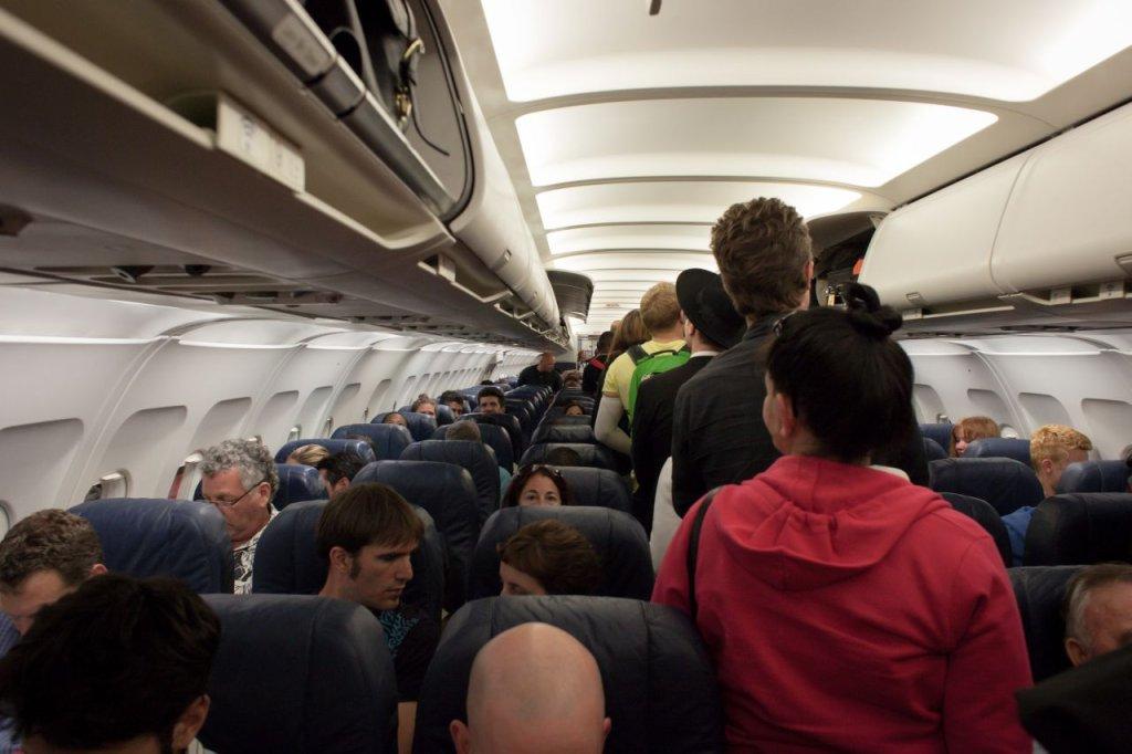 Klasa ekonomiczna w samolocie