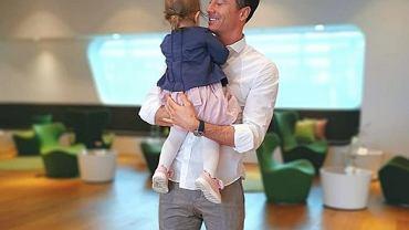 Stylowy Robert Lewandowski zabrał córkę na przejażdżkę. Tak spędzają razem czas