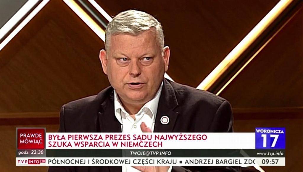 Marek Suski w TVP Info o prof. Małgorzacie Gersdorf: 'Jak Jaruzelski'