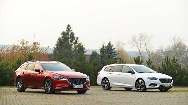 Opel Insignia 2.0 CDTi kontra Mazda 6 2.2 Skyactive-D