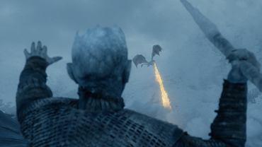 'Gra o tron': Nocny Król mierzy w smoka