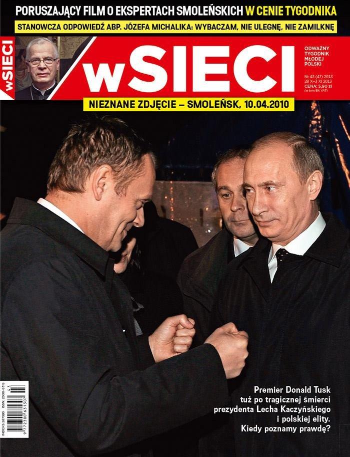Na okładce nowego numeru tygodnika