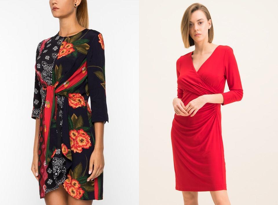 Sukienki z drapowaniem