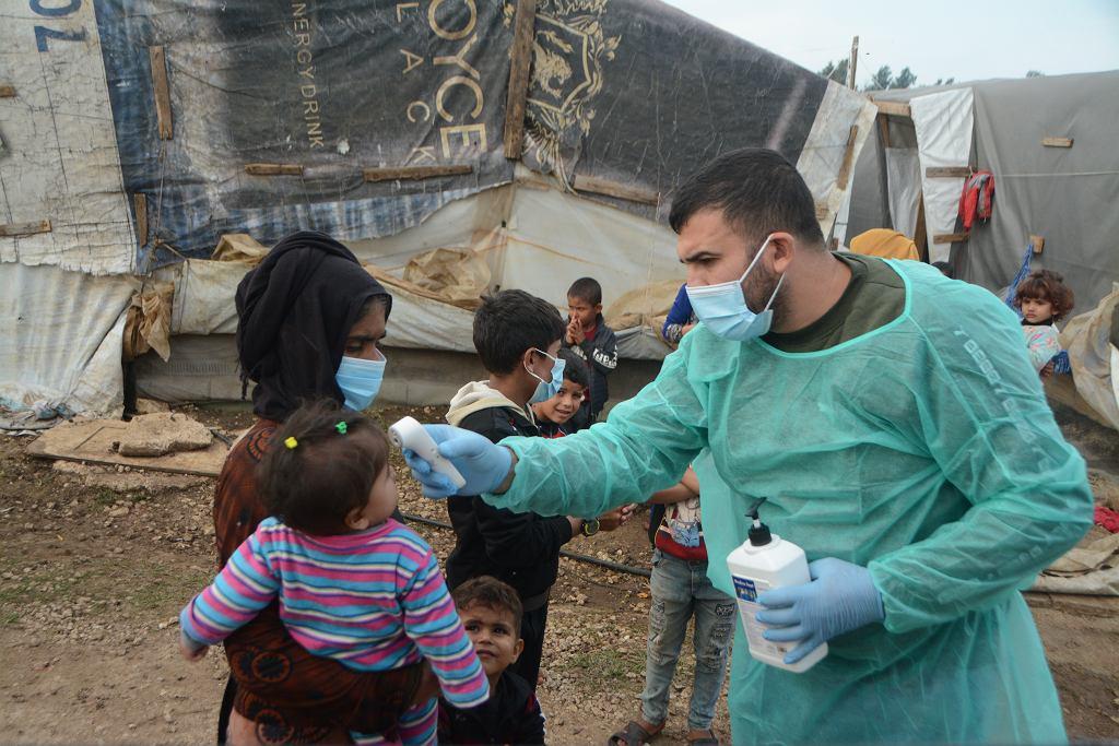 Wspierana przez PCPM klinika mobilna dla uchodźców w prowincji Akkar na północy Libanu
