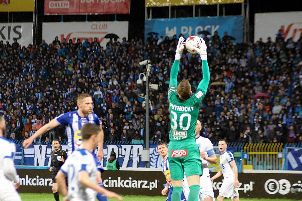 Wisła Płock - Lech Poznań 0:3. Siergiej Kriwiec