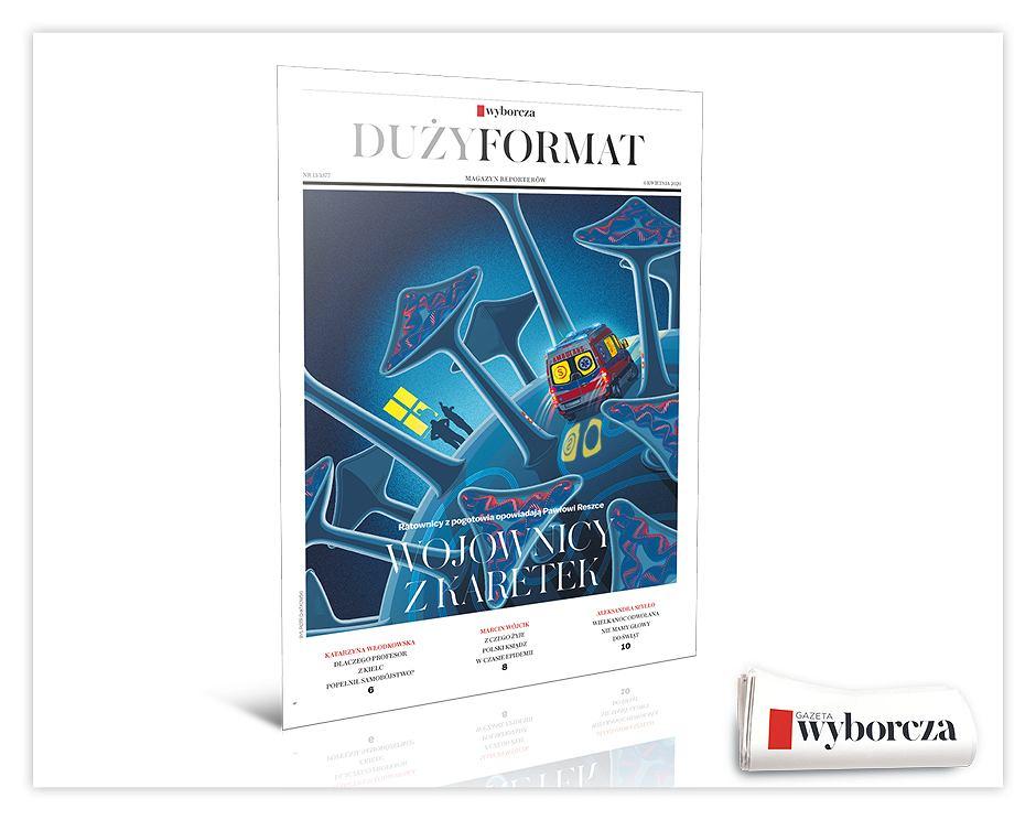 Duży Format. Magazyn Reporterów. Mat. promocyjny