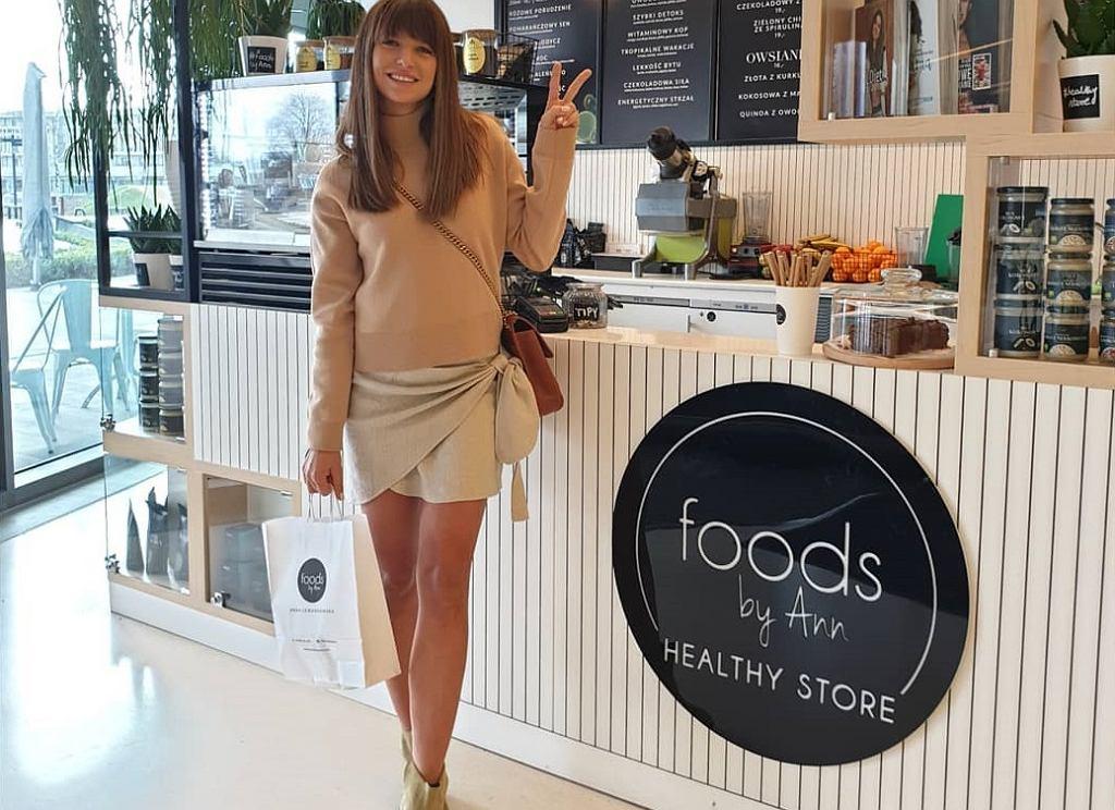 Anna Lewandowska otwiera kolejny punkt Healthy Store By Ann