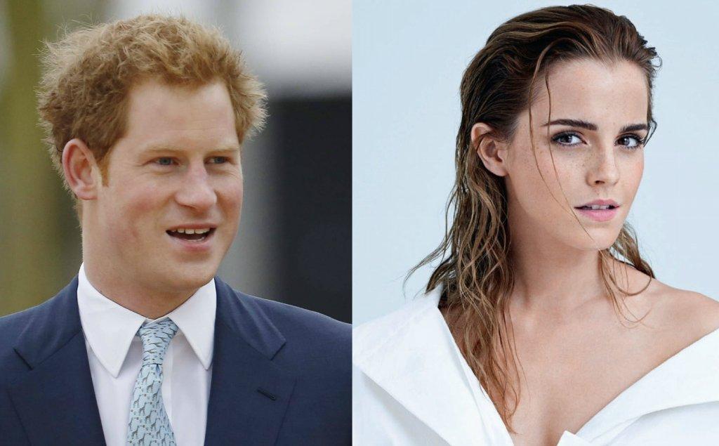 Książę Harry, Emma Watson