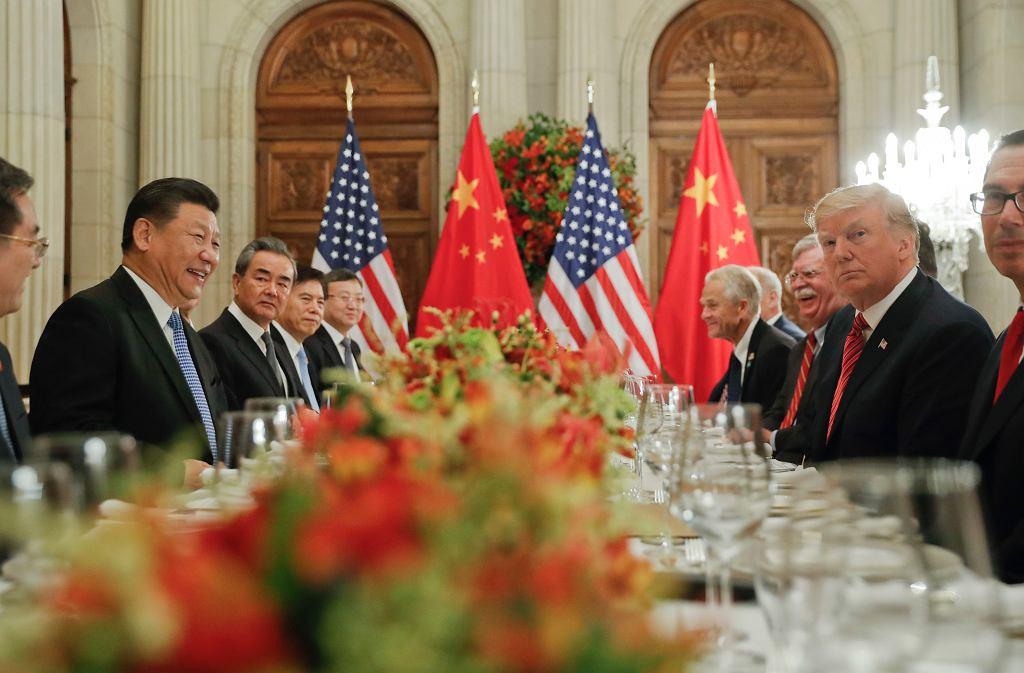 Xi Jinping i Donald Trump
