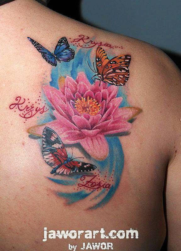 Tatuaż Jest Jak Piórka Tak Krzyże Nie