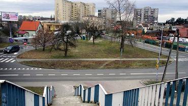 Zielona Góra, okolice ul. Objazdowej