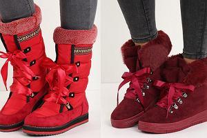 Buty na zimę - śniegowce do 100, 200 i 300 złotych