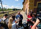 Minister Adamczyk: Węzeł kolejowy między Olkuszem a Dąbrową Górniczą do 2027 r.