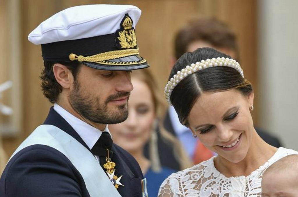 Księżniczka Sofia, książę Karol Filip