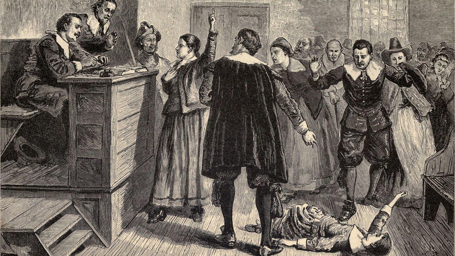 W wyniku procesów czarownic w Salem powieszono 19 osób