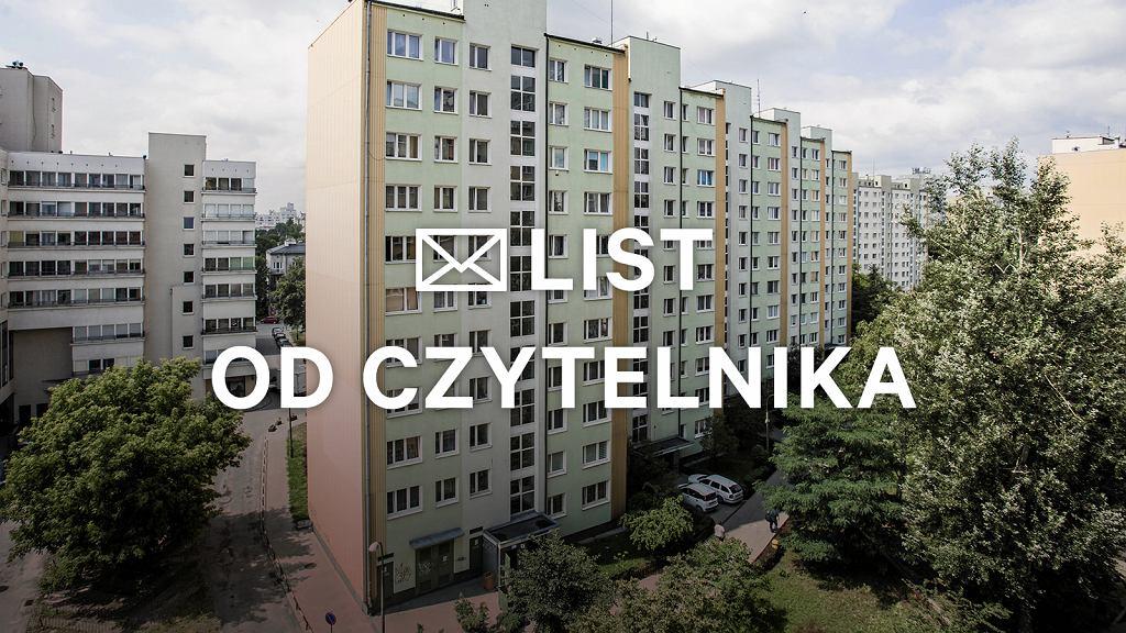 Problem z sąsiadem w Warszawie