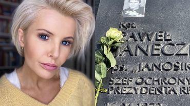 """Joanna Racewicz uczciła 11. rocznicę śmierci męża. """"Zostawcie Tupolewa"""". Zwraca uwagę, że trzeba dbać o żywych"""