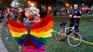 Wybuch paniki na paradzie Pride w Waszyngtonie