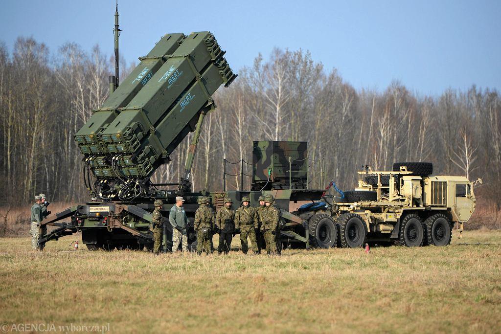 Bateria Patriot na poligonie 3. Warszawskiej Brygady Rakietowej - zdjęcie ilustracyjne