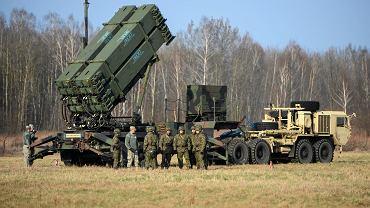 21.03.2015, Sochaczew, bateria Patriot na poligonie 3. Warszawskiej Brygady Rakietowej.
