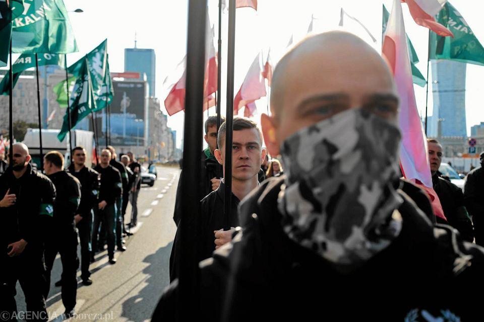 Marsz ONR w Warszawie 29 kwietnia 2017 r.