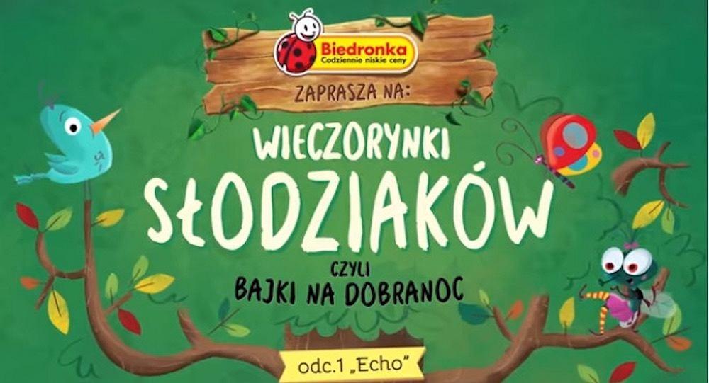 'Wieczorynki Słodziaków' - pierwszą historię pt. 'Echo' czyta Wiktor Zborowski
