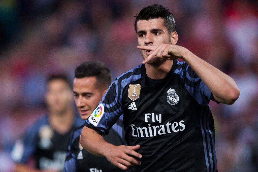 Alvaro Morata strzelił dwa gole Granadzie