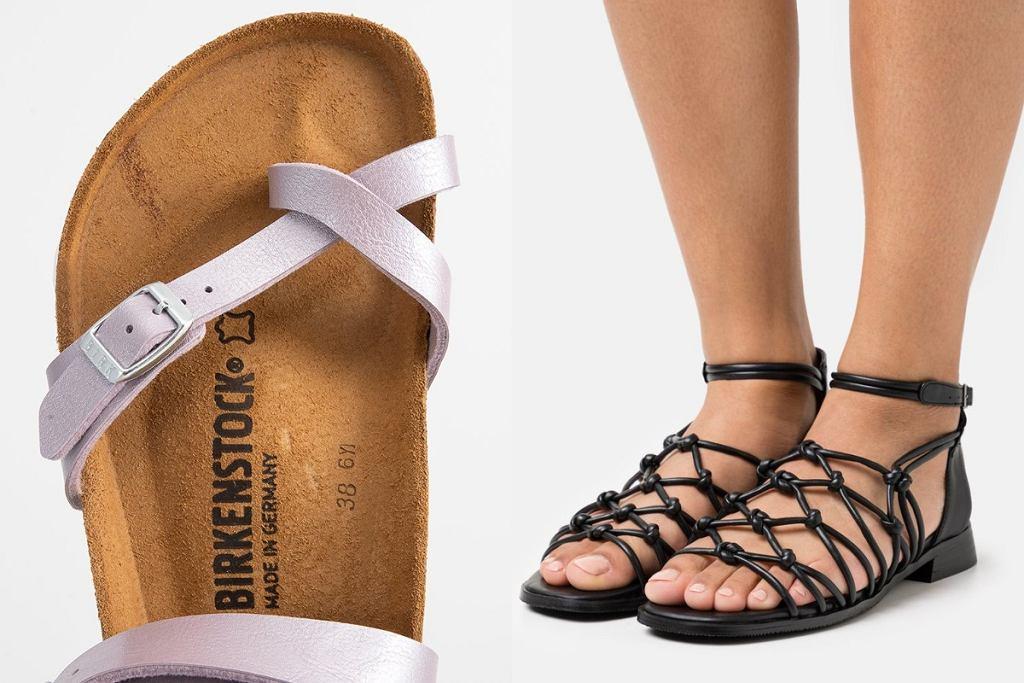 sandały damskie na lato