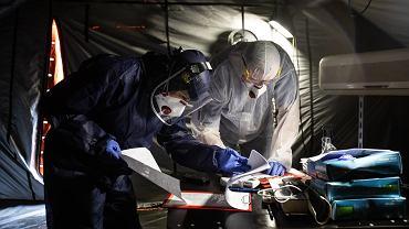 Pandemia koronawirusa. Medycy w Samodzielnym Publicznym Szpitalu Klinicznym Nr 4 . Lublin, 9 czerwca 2020